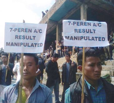 Protest in Peren