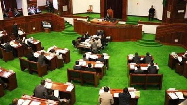 State Assembly session on Aug 6