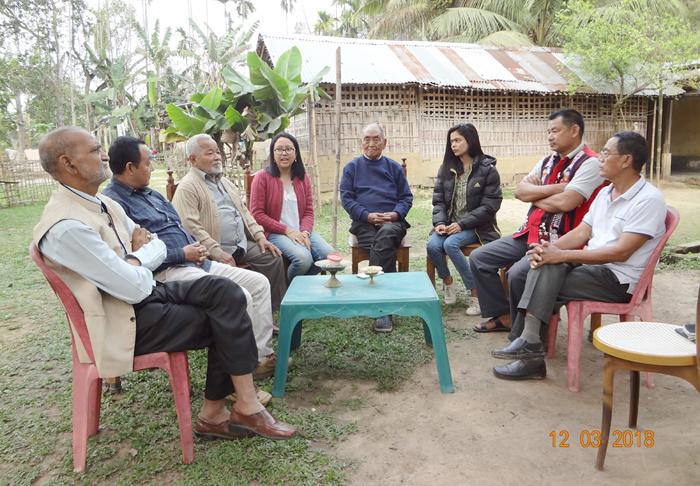 Peace coordination meet held at Nakachari