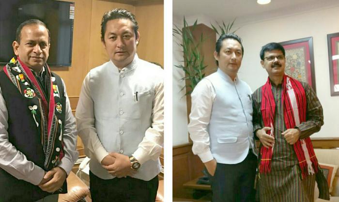 Imnatiba meets top GoI officials in Delhi