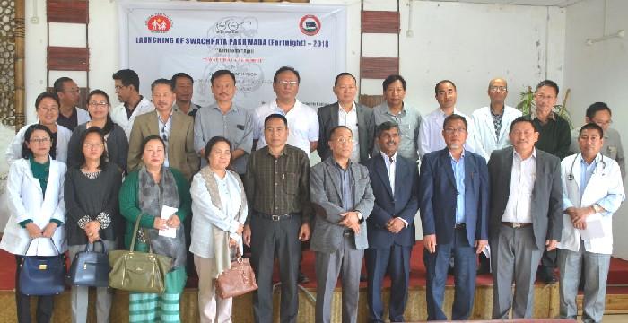 Pangnyu launches  Swachchata Pakhwada