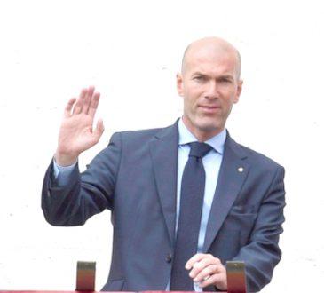 Zidane steps down