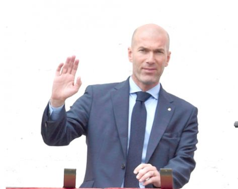 Zidane steps down