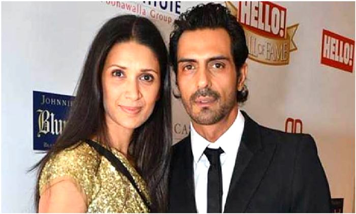 arjun rampal wife