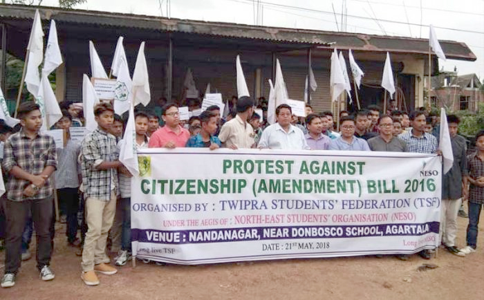 Massive protests across Assam against Citizenship Bill