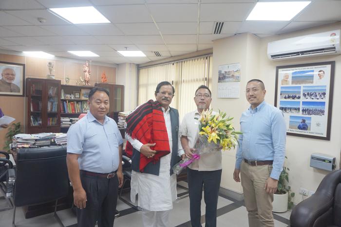 Pangnyu seeks separate  Directorate for AYUSH