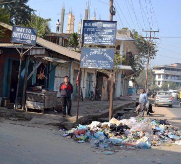 garbage Dhobinala