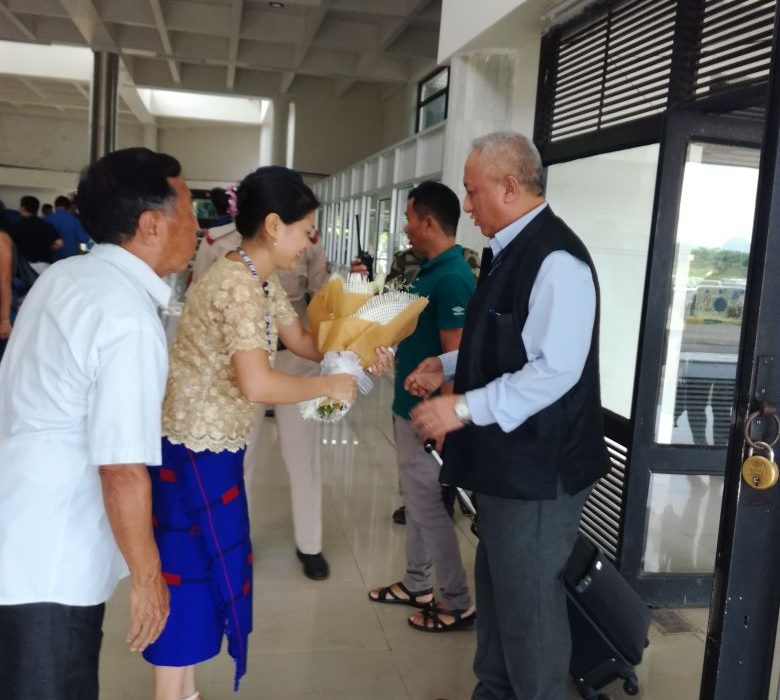 State DGP undertakes familiarization tour