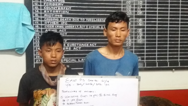 Dimapur police cracks triple murder case, 2 arrested