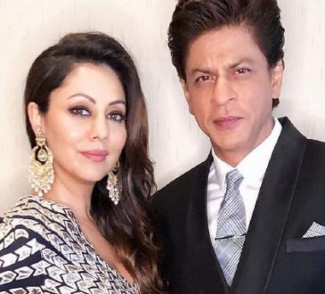 Shahrukh khan and wife