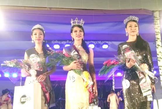 Neingainem Kuki wins  Miss Dimapur 2018 title