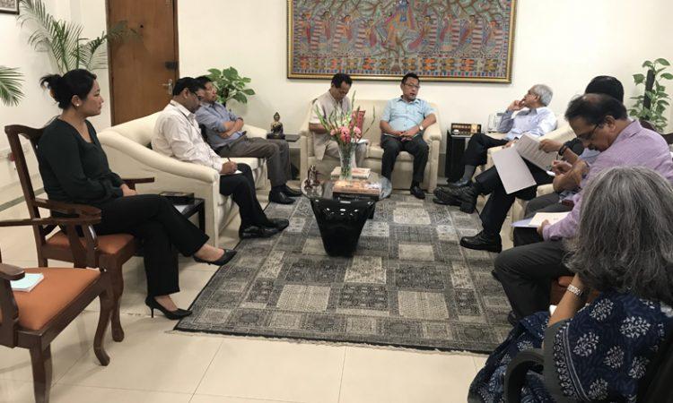 ENLU delegation