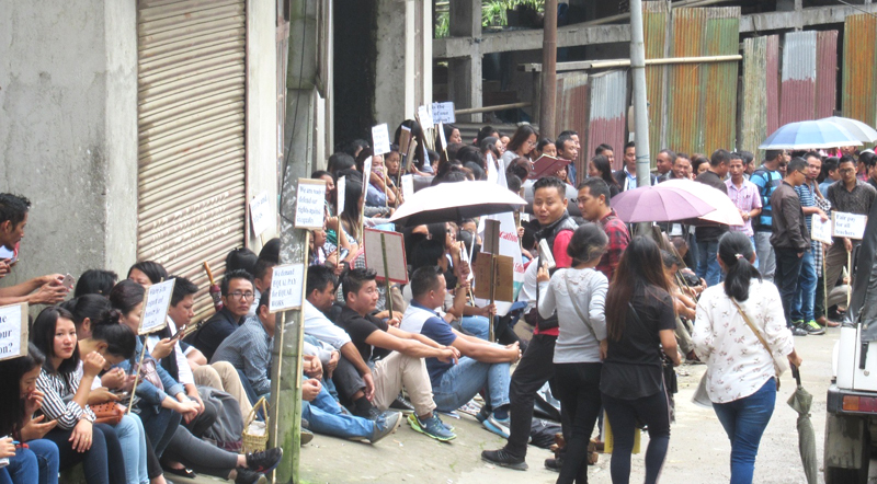 RMSA sit-in-protest dispersed by administration, police