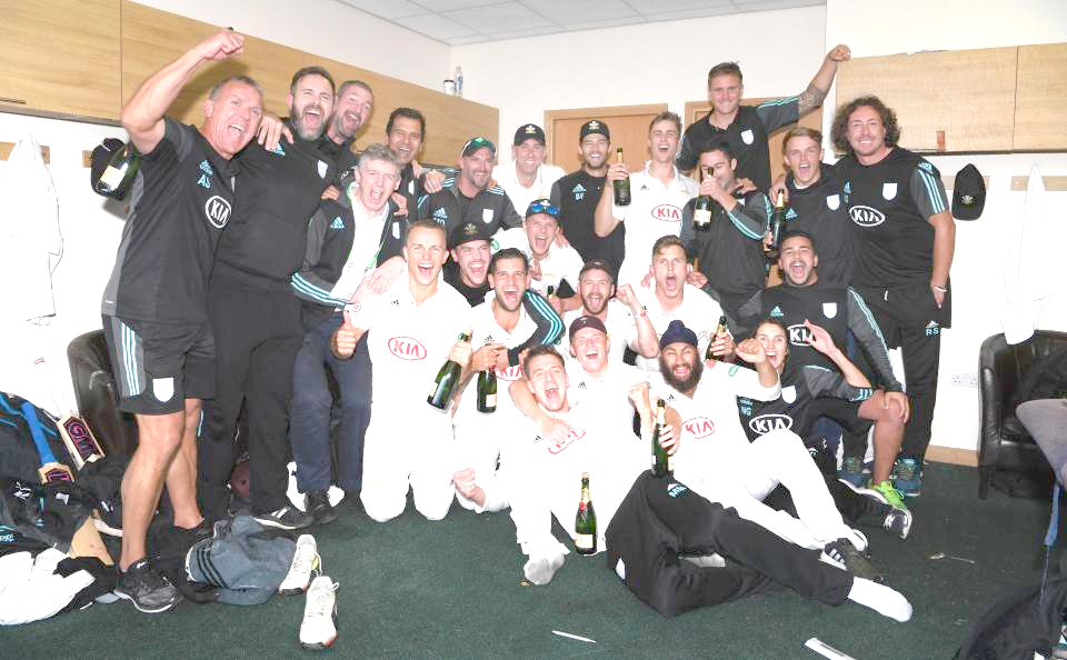 Surrey win