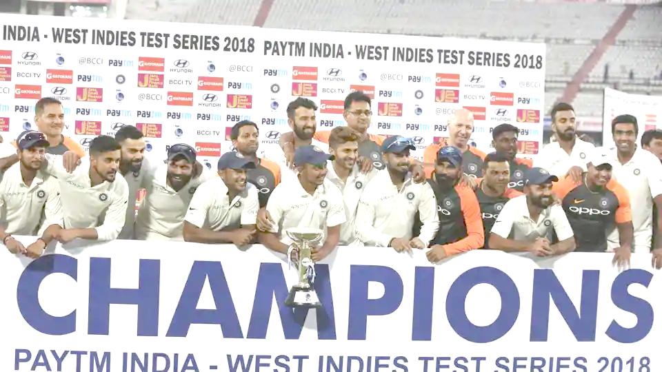 India beat West Indies 1
