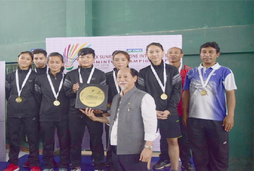 Junior team champion manipur