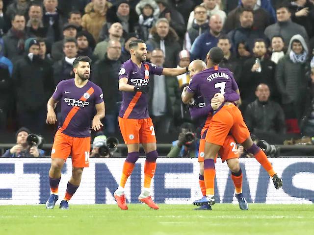 Manchester City beat Tottenham