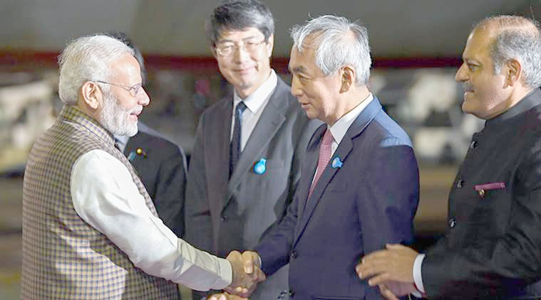 Modi reaches Japan, confident of adding new vigour to Indo-Japanese relations