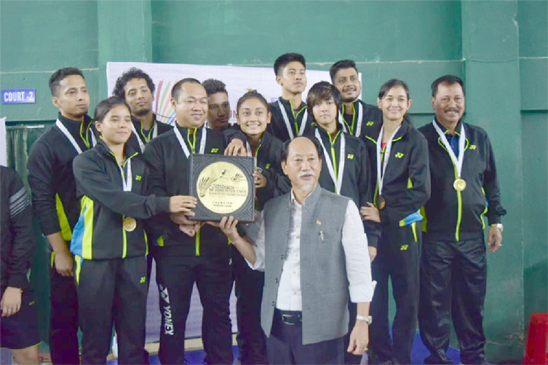 Assam is overall champion of NE Zone Inter-State Badminton C'ship