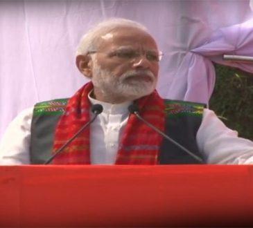 PM Mizoram rally
