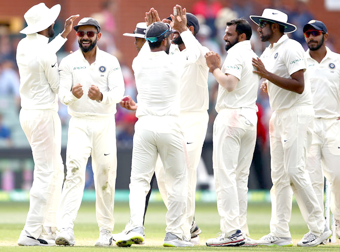 India close in on victory