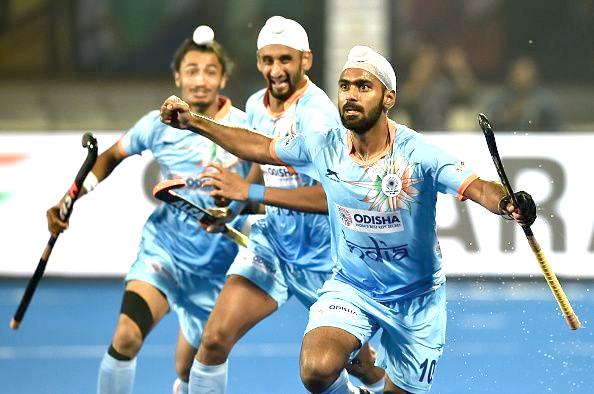 India hold Belgium