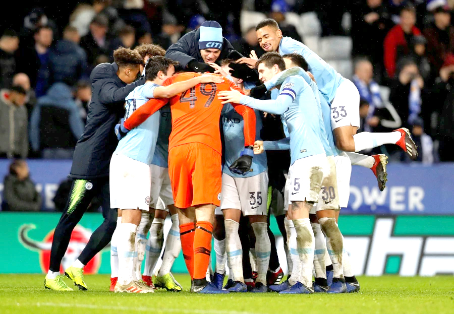 Manchester City survive