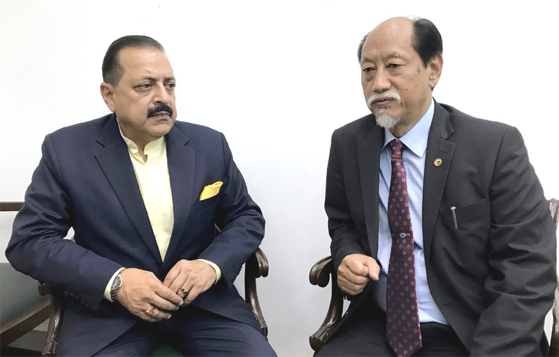 Rio discusses Kohima airport with DoNER Minister