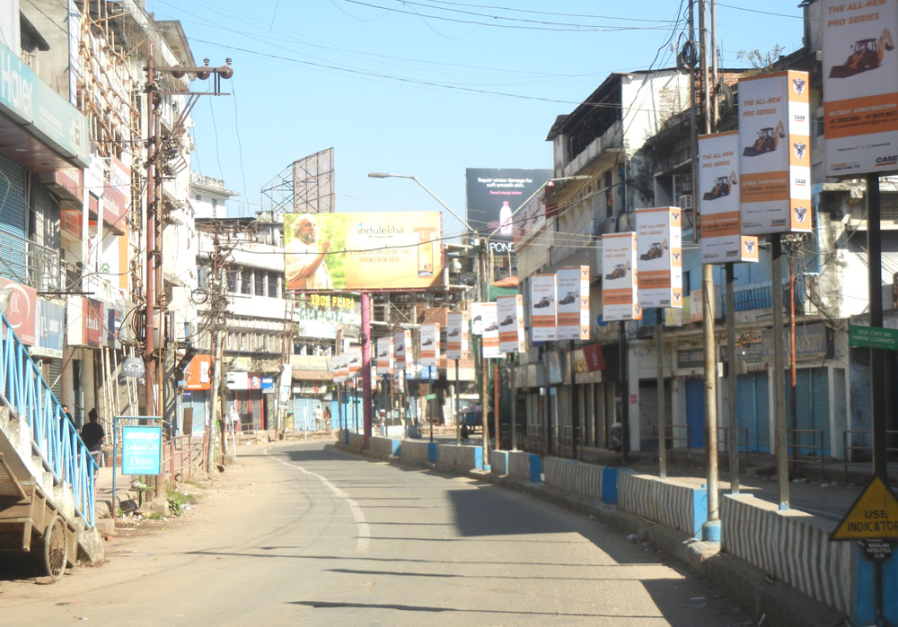Traders suffer loss as Dimapur bandh  put brakes on business