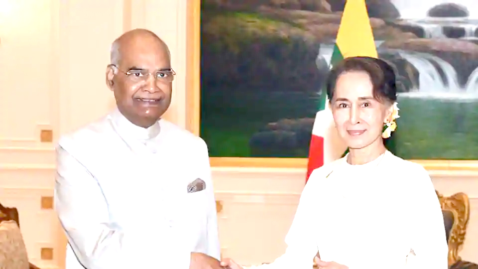 support to Myanmar