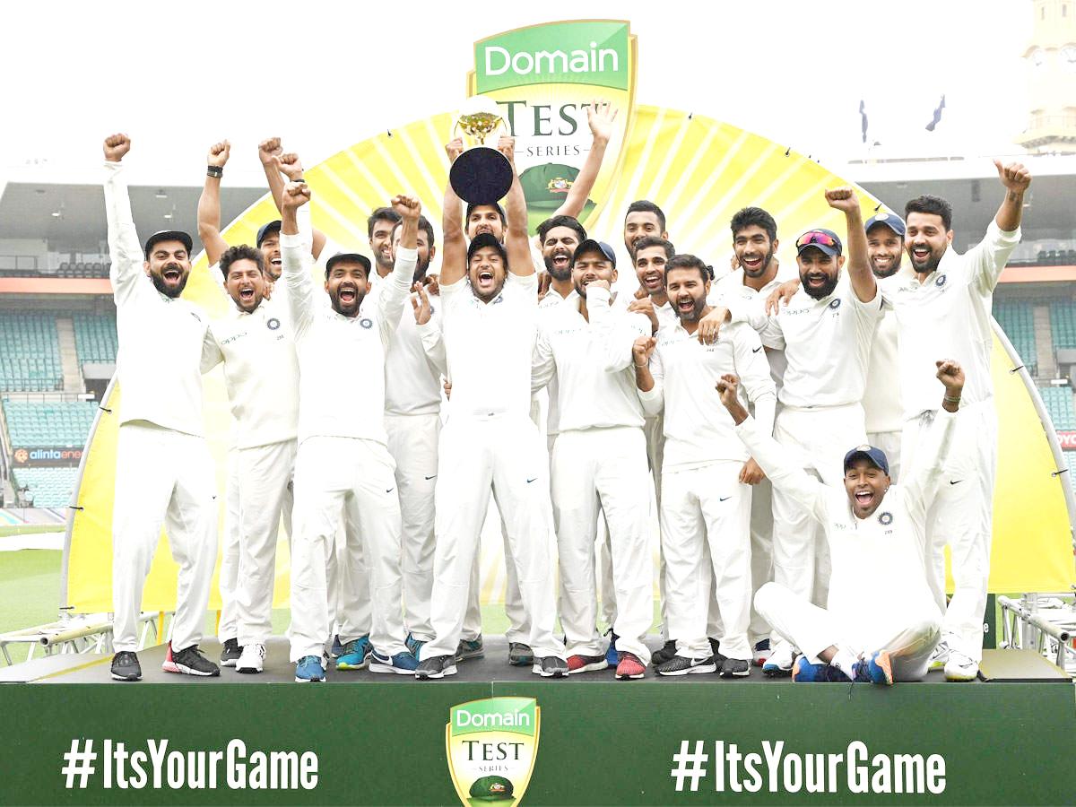 India make history