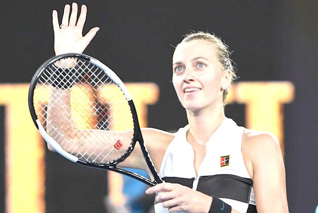 Kvitova downs Barty