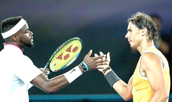 Nadal beats Tiafoe