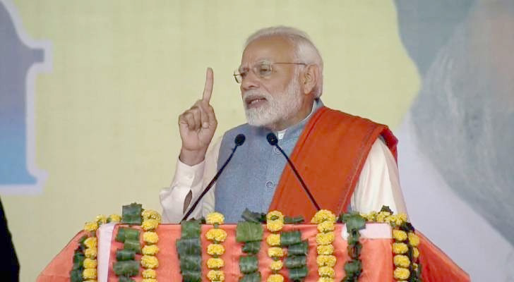 PM attacks Cong on 1984-anti Sikh riots, farmers' loan waiver issues