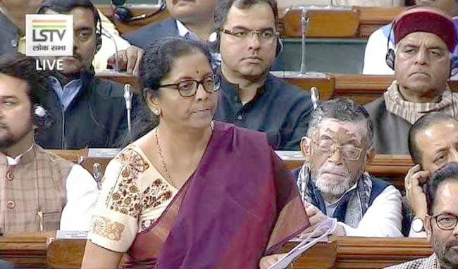 We are a government that  listens, says Sitharaman