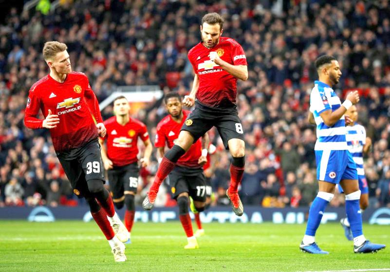 United beat Reading