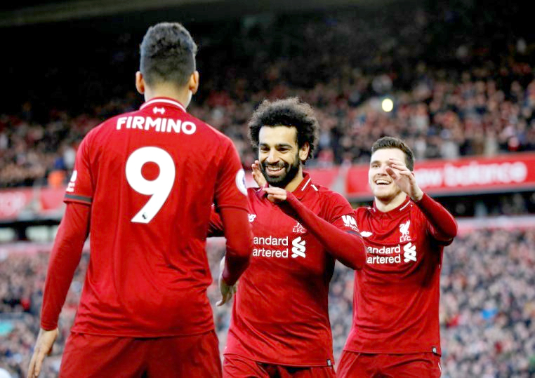 Liverpool back