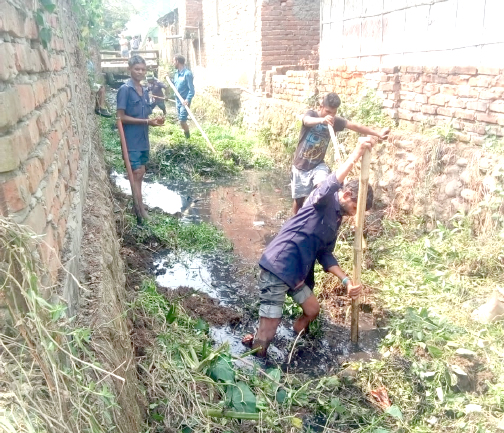 Cleaning of drainage