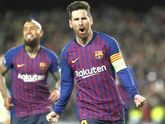 Messi hat trick