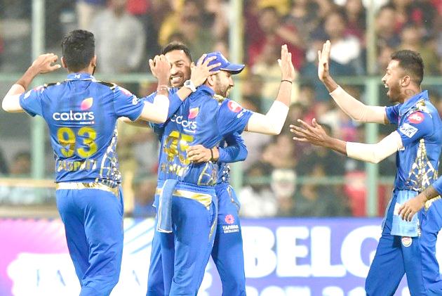 Mumbai Indians beat Royal Challengers