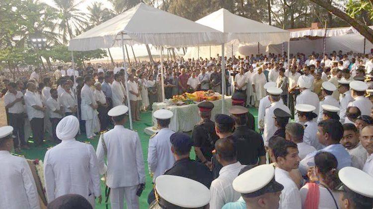 Parrikar funeral