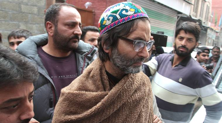 Yasin Malik-led JKLF banned under anti-terror law