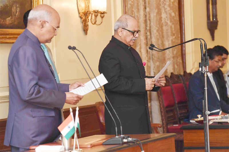 Justice Pinaki Ghose sworn in as  first Lokpal of India