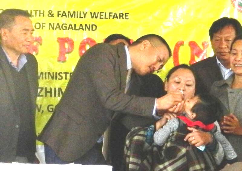 Himato launches Polio  immunization campaign
