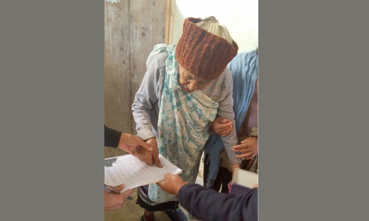 99 year old voter