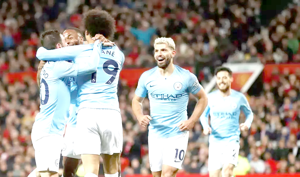 City back on top