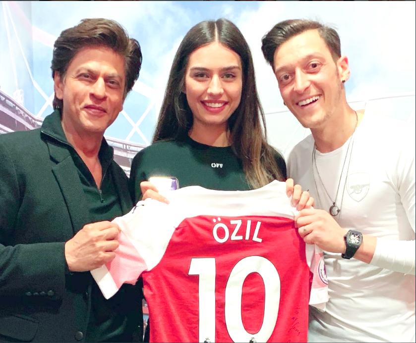 Mesut Ozil to India