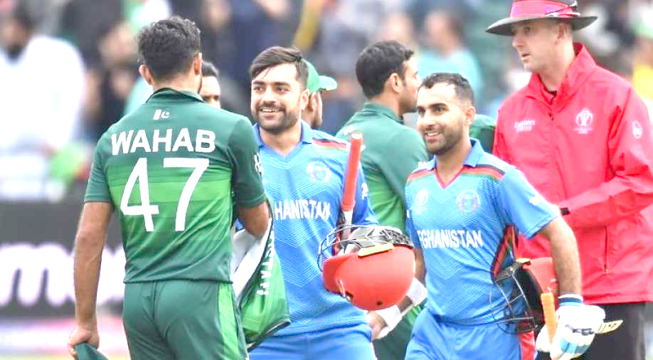 Afghanistan stun Pakistan