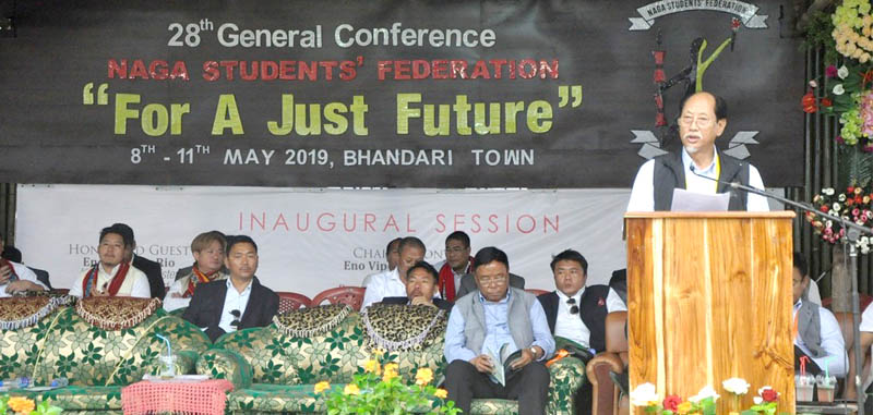 CM decries disunity in Naga society
