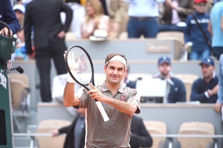 Federer ends